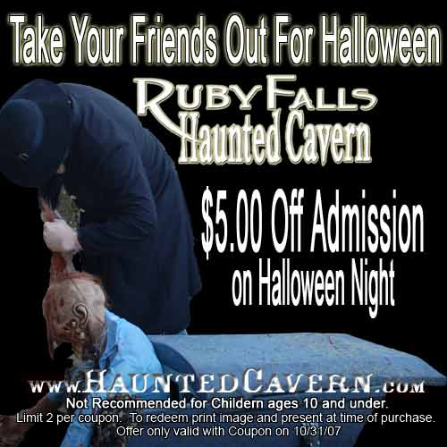 Ruby falls discount coupons