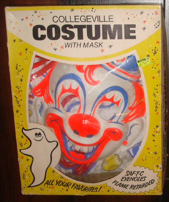 goblinhaus vintage halloween costumes and masks for sale collegeville ben cooper spook town halco - Rob Zombie Halloween Mask For Sale